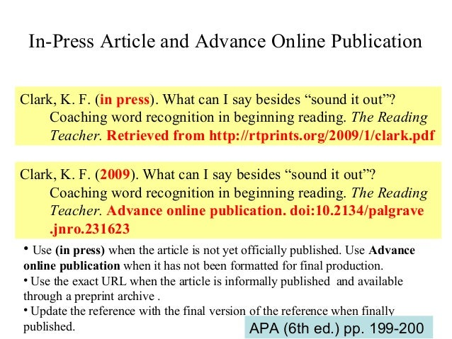 publication manual apa citing dissertation Many social science disciplines use apa format for citing sources the most  recent guide is the publication manual of the american  and preservice teacher  education (doctoral dissertation, university of west florida.