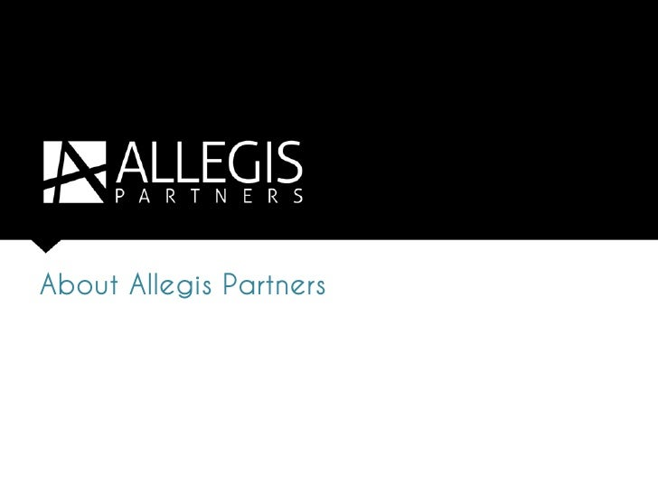 About Allegis Partners