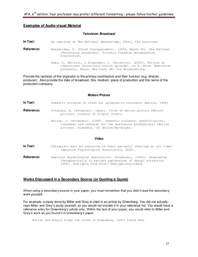 apa 6th edition guidelines muco kiessling co