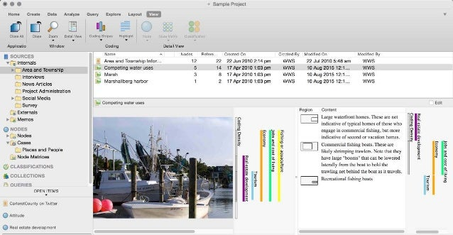 Download a free 14 day NVivo trial today: www.qsrinternational.com Advanced Software for Qualitative Data Analysis The NVi...