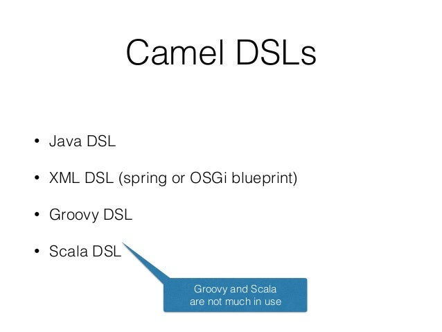 Apache Camel Introduction & What's in the box