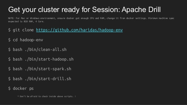 Apache drill - Scalable SQL query Engine Slide 3