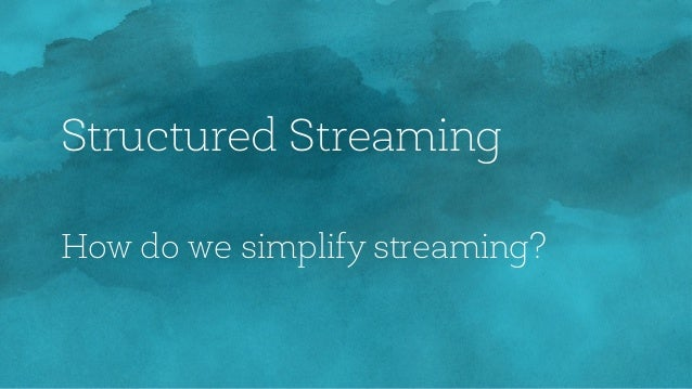 Integration Example Streaming engine Stream (home.html, 10:08) (product.html, 10:09) (home.html, 10:10) . . . What can go ...