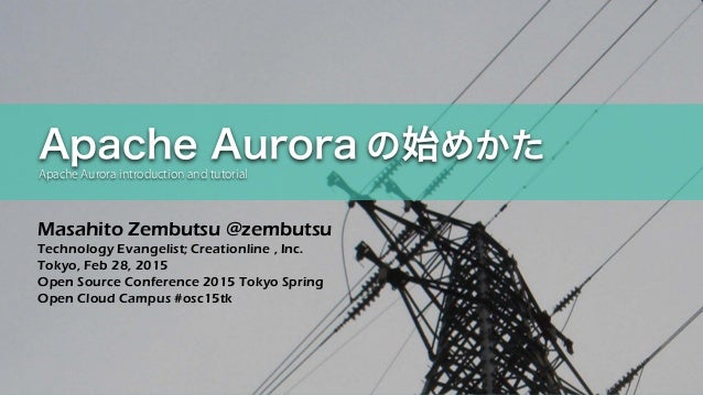 Masahito Zembutsu @zembutsu Technology Evangelist; Creationline , Inc. Tokyo, Feb 28, 2015 Open Source Conference 2015 Tok...