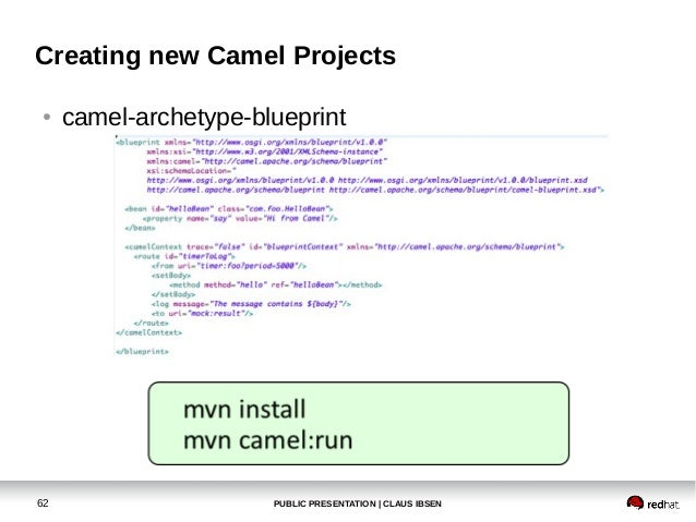 Getting started with apache camel malmo jug march 2013 creating new camel projects maven archetypes61 public presentation claus ibsen 62 malvernweather Image collections