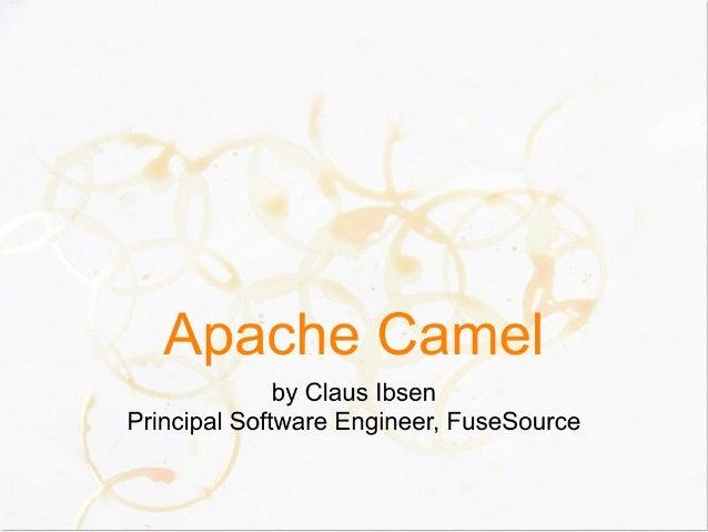 Apache Camel Devoxx 2010