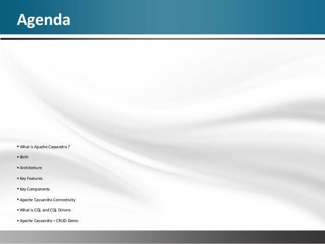Apache cassandra Slide 3
