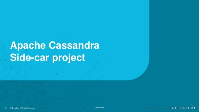 Apache Cassandra Side-car project 34 © DataStax, All Rights Reserved. Confidential