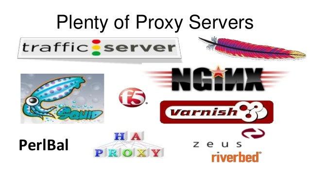 Plenty of Proxy Servers PerlBal
