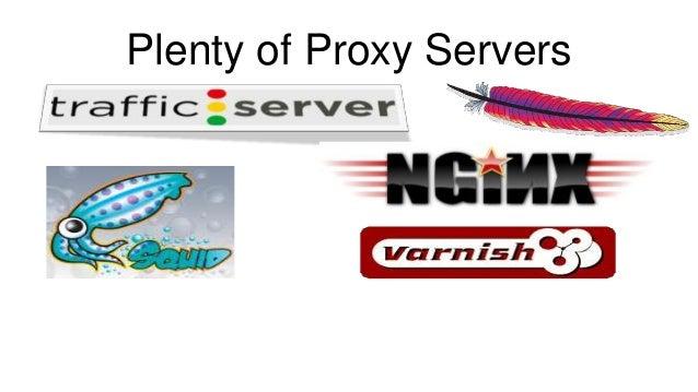 Plenty of Proxy Servers