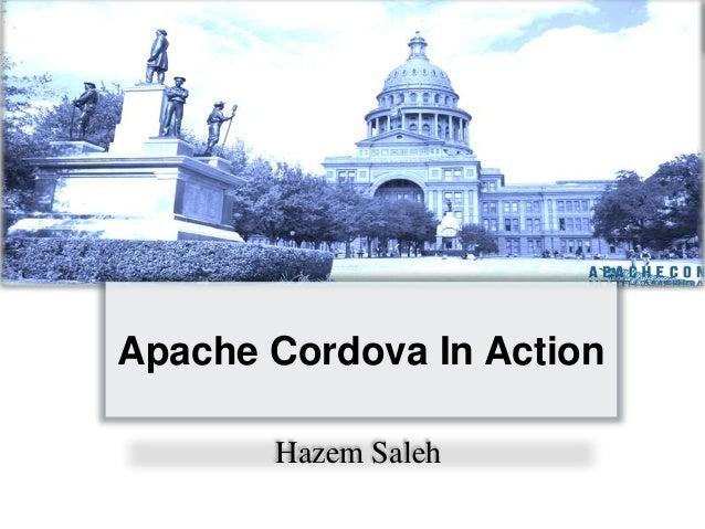 Apache Cordova In Action Hazem Saleh