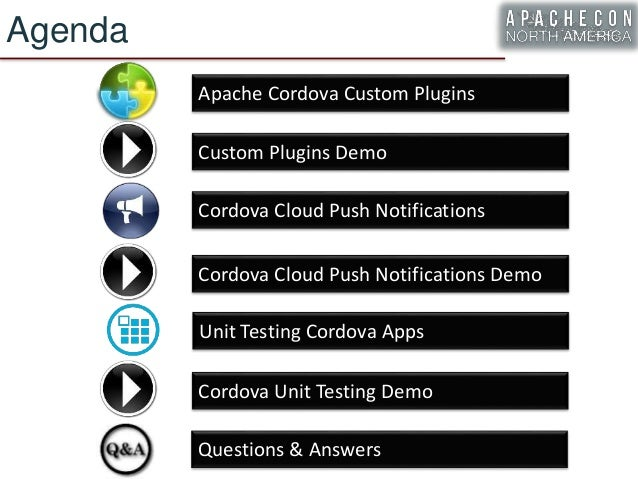 ApacheCon 2016] Advanced Apache Cordova