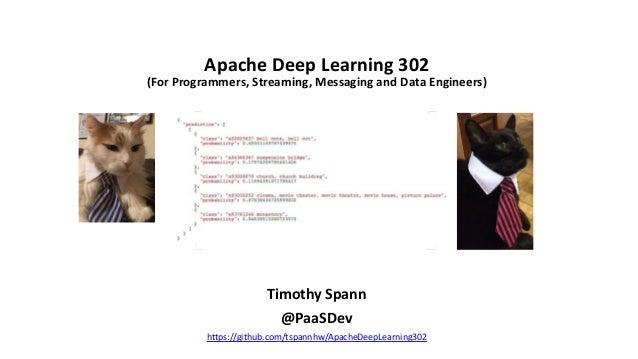 ApacheCon 2021   Apache Deep Learning 302 Slide 2