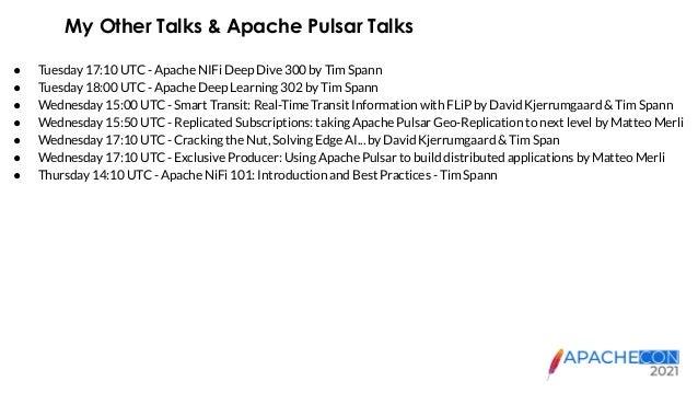 ApacheCon 2021 - Apache NiFi Deep Dive 300 Slide 3