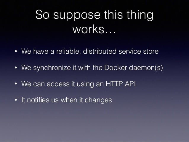 Apachecon core service discovery in osgi beyond the jvm for Docker run consul