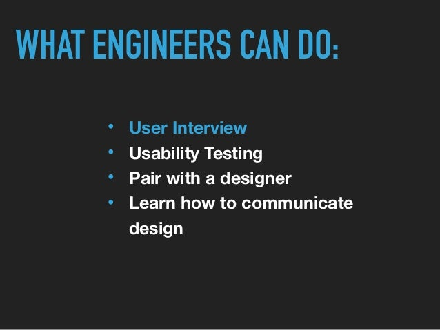PREPARE INTERVIEWING USERS • Decide what you want to explore  • Find the right user   • Prepare scenarios CONDACT REPORT •...