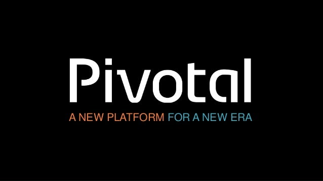 A NEW PLATFORM FOR A NEW ERA