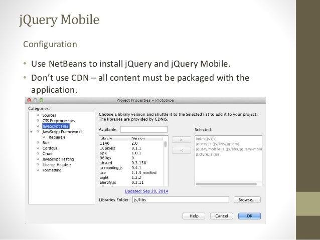 Hybrid Mobile Development with Apache Cordova and