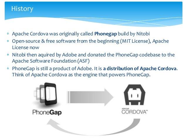 Introduction to Apache Cordova (Phonegap) Slide 3