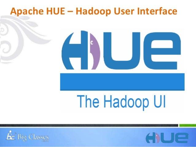 What is hue hadoop