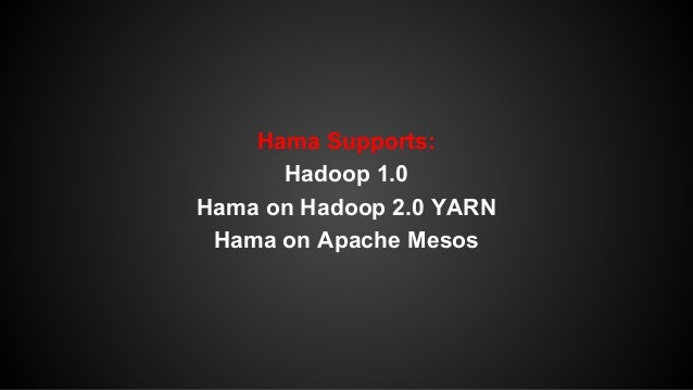 The future features of Apache Hama:  Kryo serialization, Rootbeer GPU acceleration (Martin  Illecker, University of Innsbr...