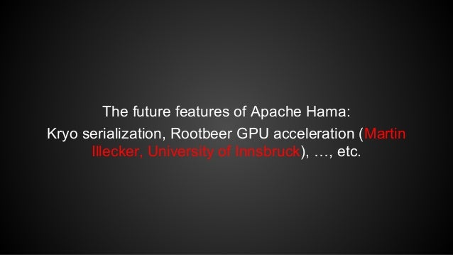 Apache Hama at Samsung Open Source Conference