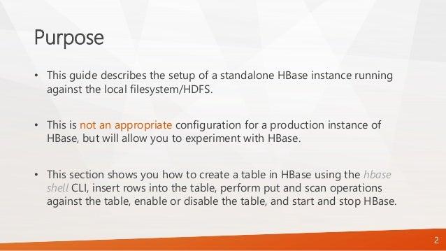 Apache HBase - Lab Assignment