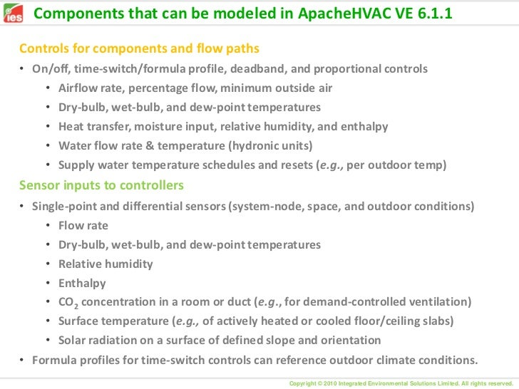 Apachehvac in ve 6 1 1 6 3 and 6 4 0 5 july 2011 for Ashrae 62 1 table 6 1