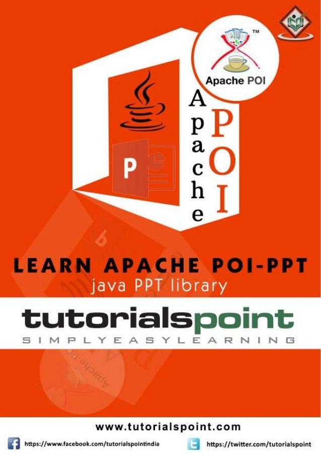 Apache poi ppt_tutorial