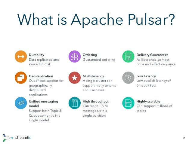 Re: Comparing Pulsar and Kafka: unified queuing and streaming