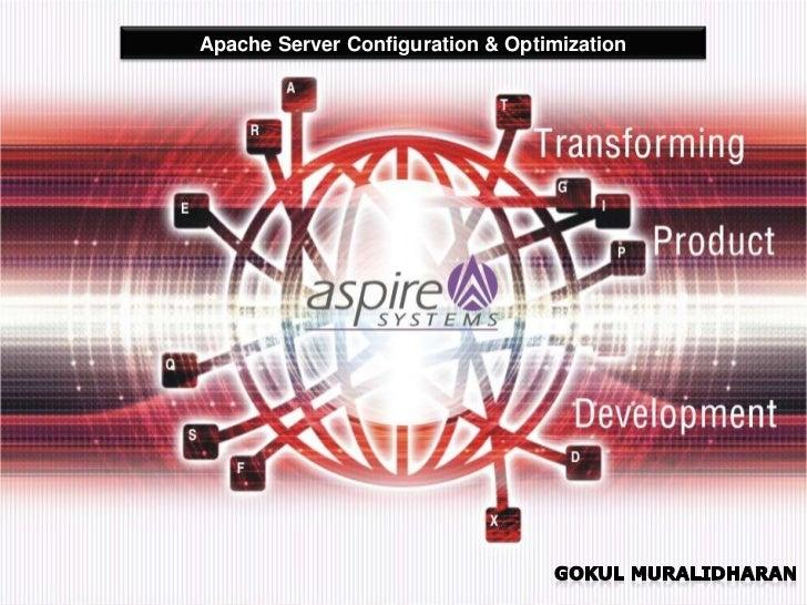 Apache Server Configuration & Optimization