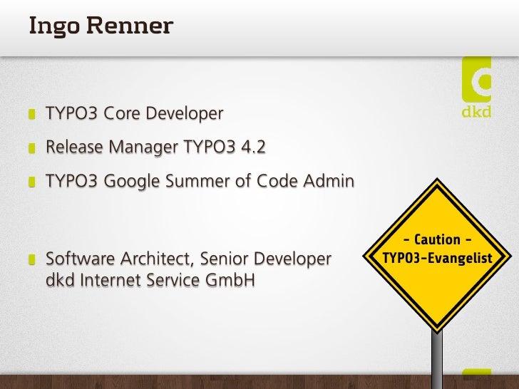 Apache Solr und TYPO3 @  Frankfurt PHP usergroup 2011-01 Slide 3