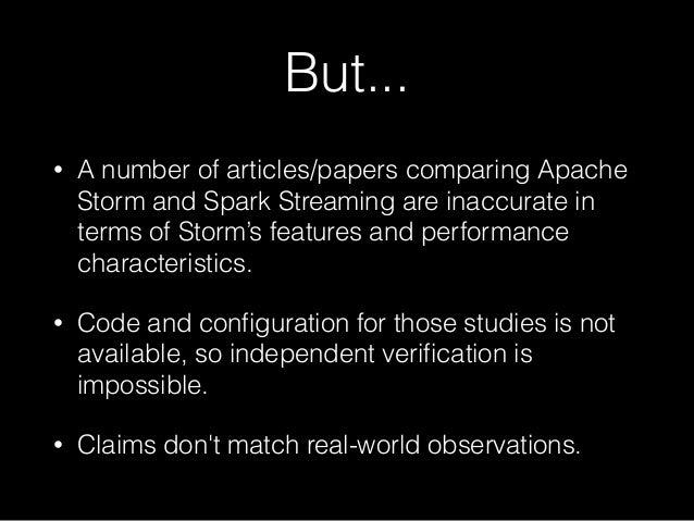 Apache storm vs. Spark Streaming Slide 3