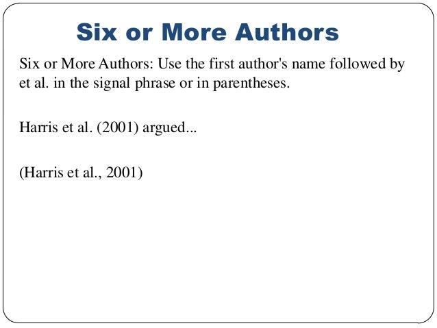 work cited apa format