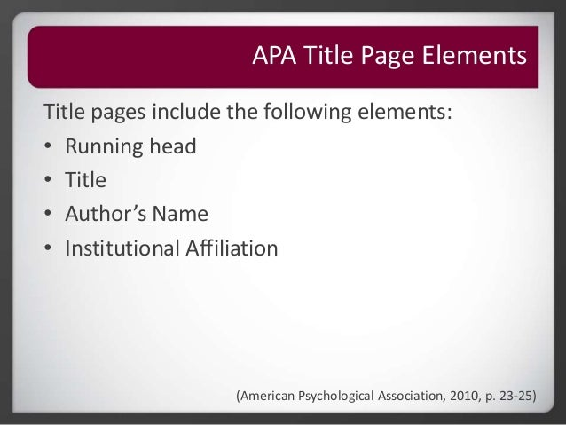 roseman university library - apa citation
