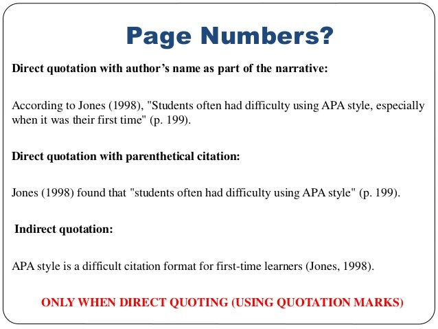 how do you put a direct quote in an essay Include an in-text citation when you refer to, summarize, paraphrase, or quote  from another source for every in-text citation in your paper, there.