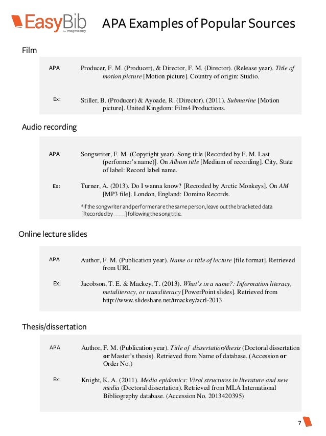 Phd thesis dissertation citation apa