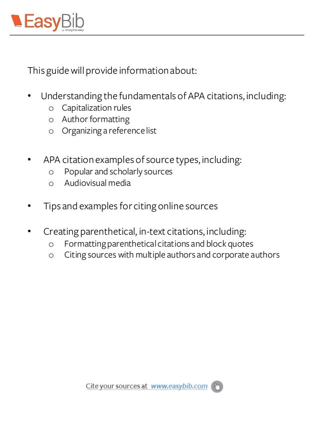 APA Citation Basics 6th Edition