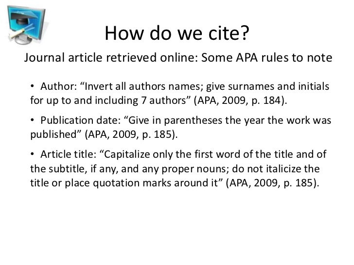 Cite a Journal Article in APA, Chicago, Harvard, or MLA ...