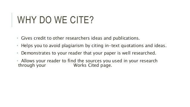 APA Citations Slide 2