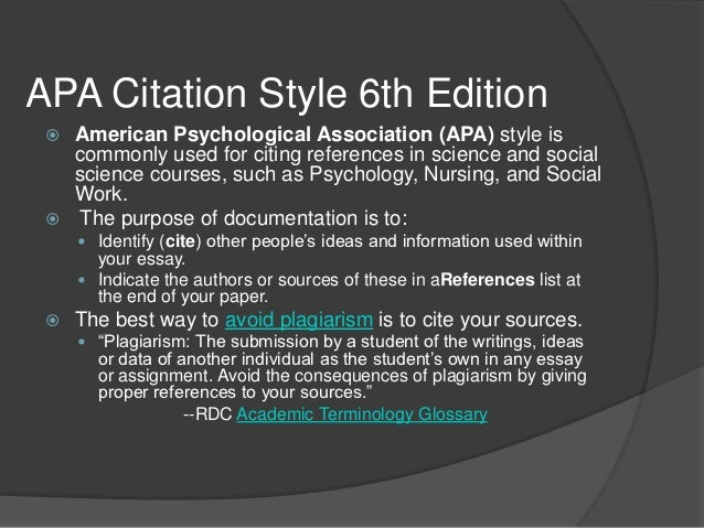 How do you cite a website in apa 6th edition