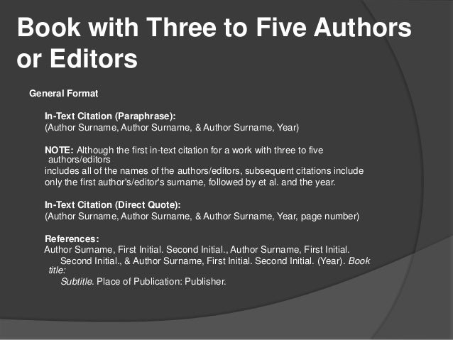 Apa citation style 6th edition book ccuart Images