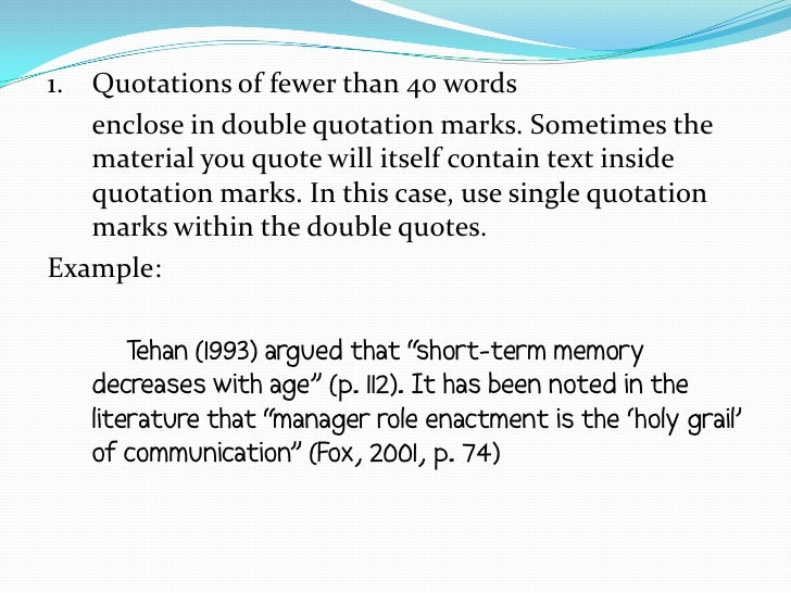 quote within a quote citation