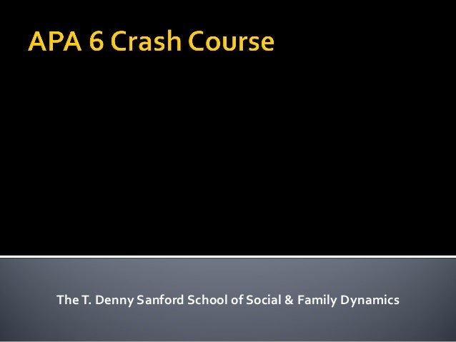 TheT. Denny Sanford School of Social & Family Dynamics