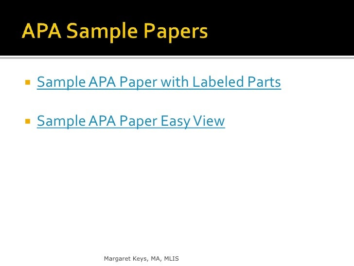 creating an apa quick reference Reference list: books the learning center 2 the apa format is the form of parenthetical or end note documentation most used in science and.