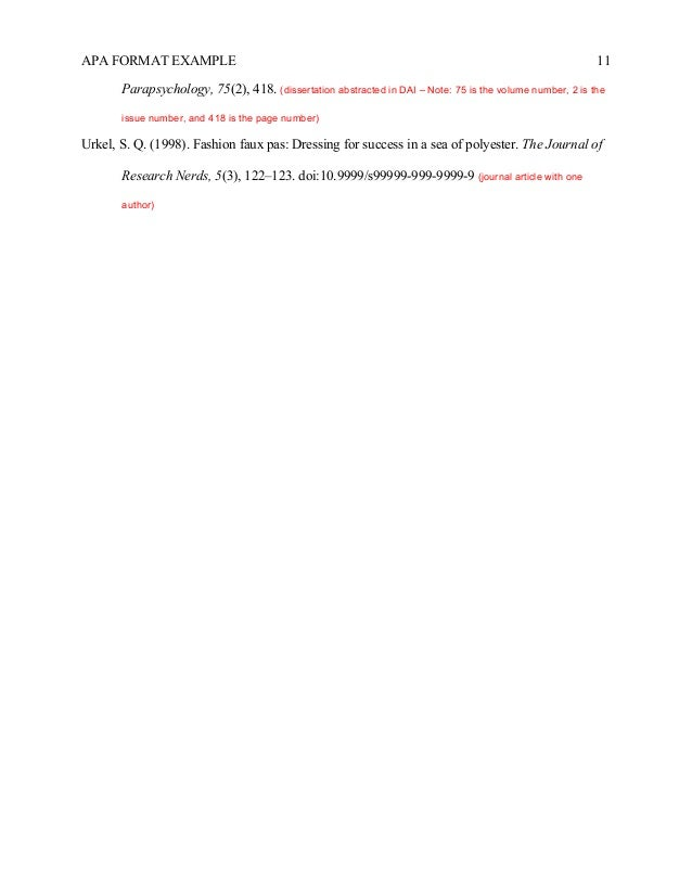 apa dissertation manuscript