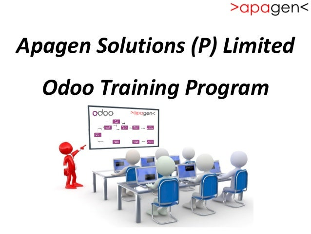 Apagen Solutions (P) Limited Odoo Training Program