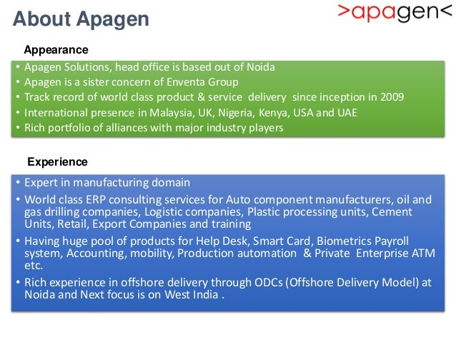 Odoo training 2016 - Apagen Solutions Pvt  ltd