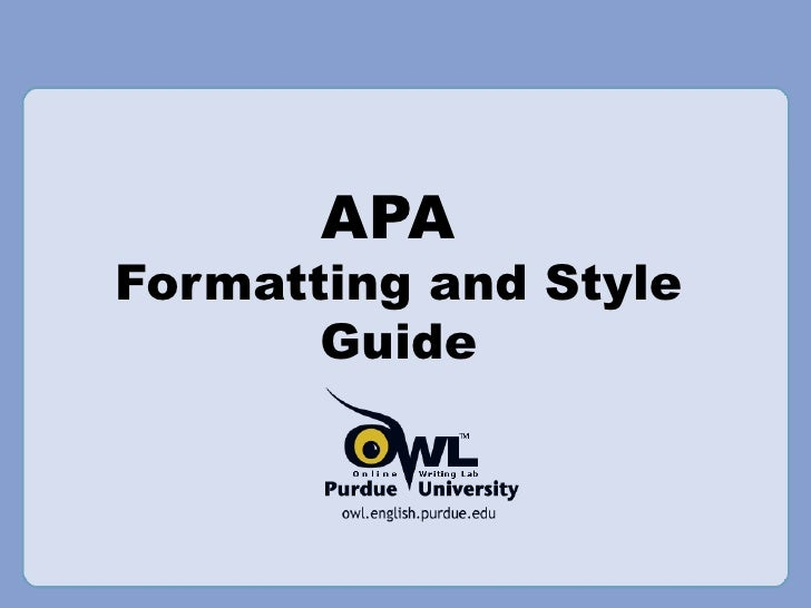 apa style research papers sample