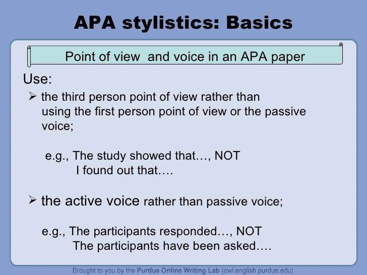 apa header example